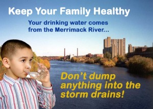 Sample stormwater education materials in English