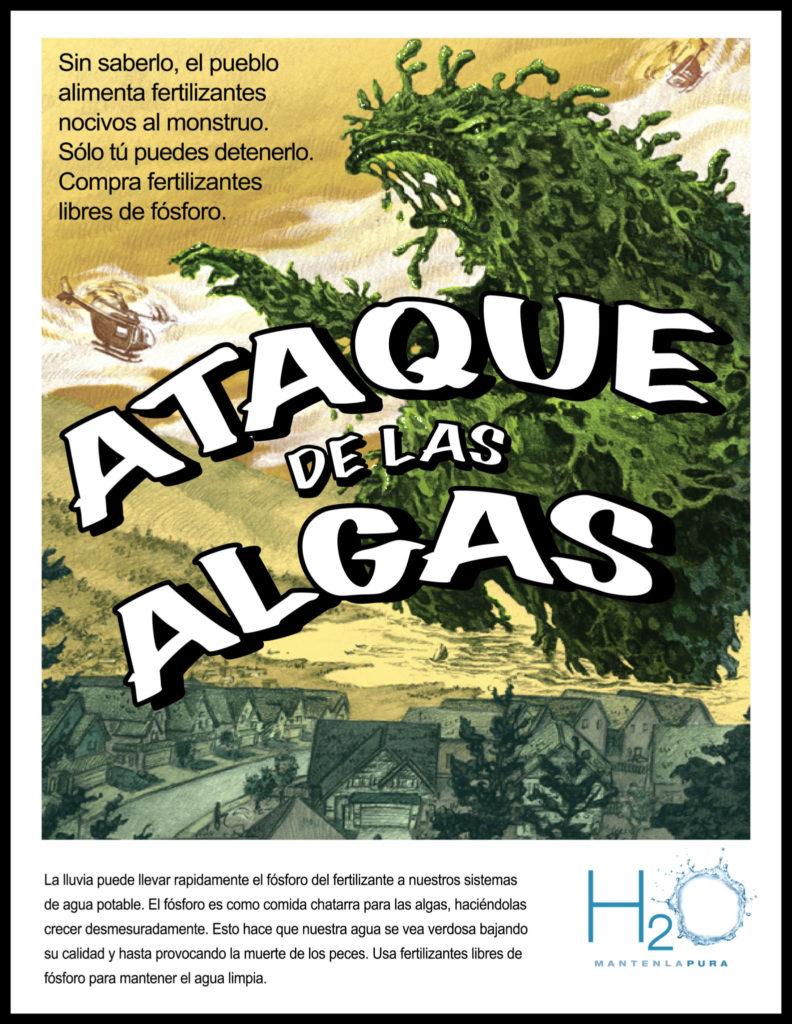 Ataque de las Algas poster