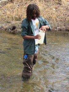 GW Denver staff performs water sampling